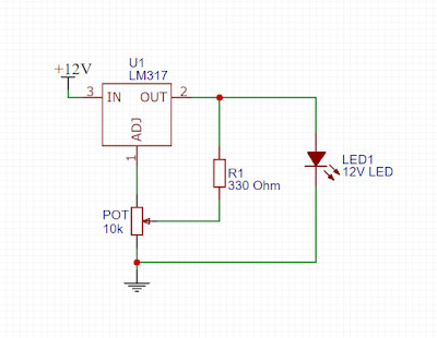 Led Dimmer Circuit With Lm317 Revealnew Led Dimmer Simple Circuit Circuit
