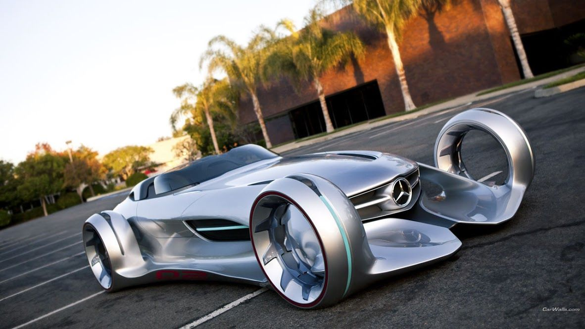 the vehicle created by mercedes benz advanced design of north america is a futuristic racing