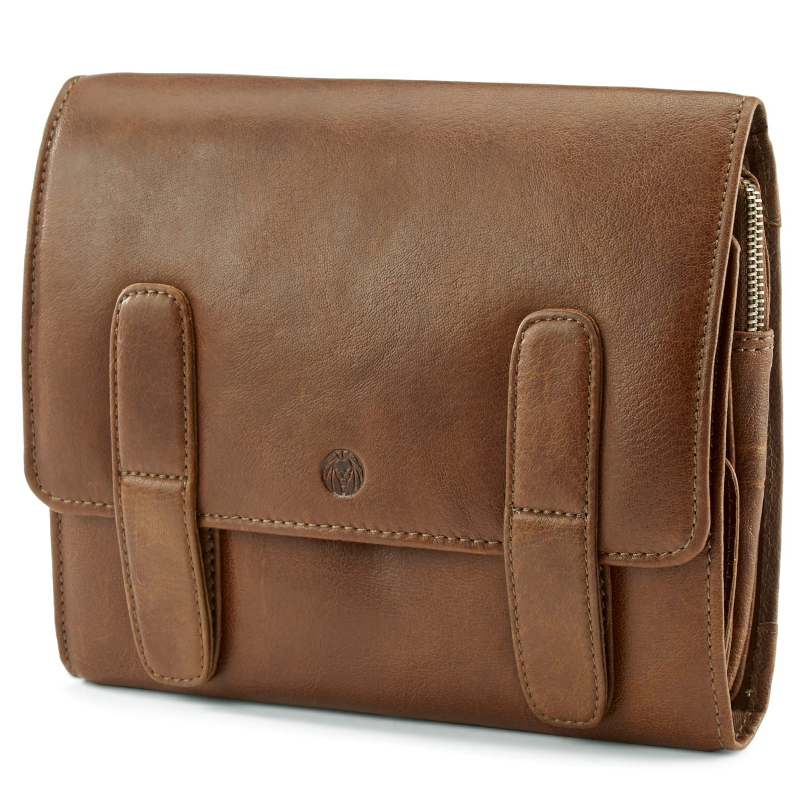 Photo of California Tan Hanging Toiletry Kit Ledertasche | Auf Lager! | Lucleon