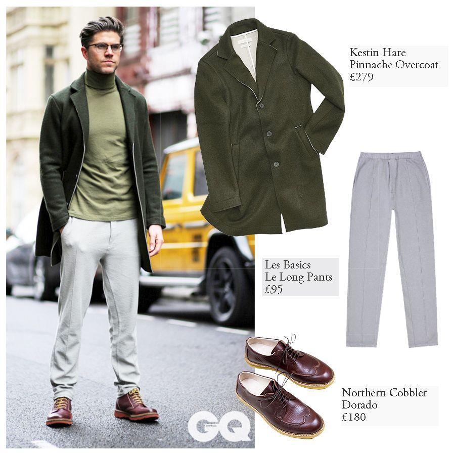 6c3c4eac22 Model   Presenter Darren Kennedy wears Western Assembly for London Fashion  Week Mens. Full look