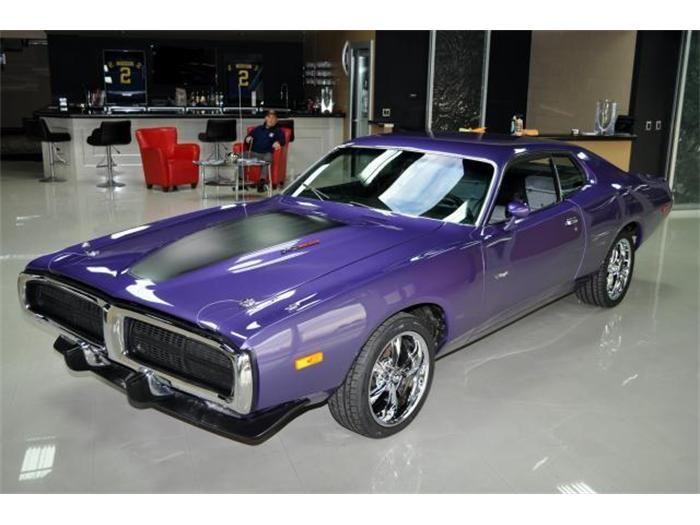 73 Dodge Charger  Classic Cars  Pinterest  Dodge charger