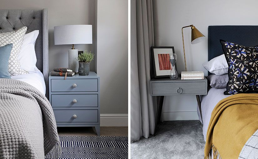 How To Decorate Your Bedside Table Th2studio Bedside Table Table Set Of Drawers
