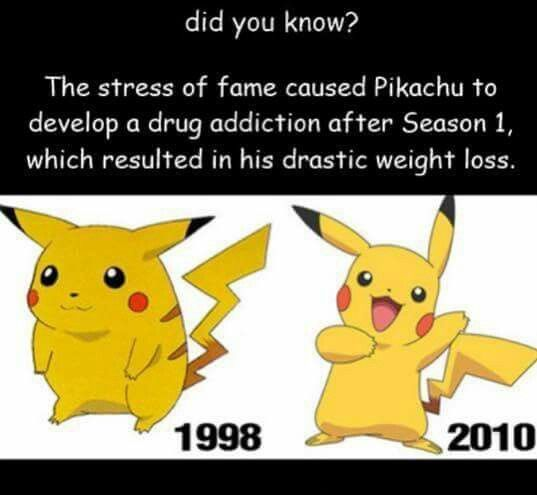 Weight loss pokemon