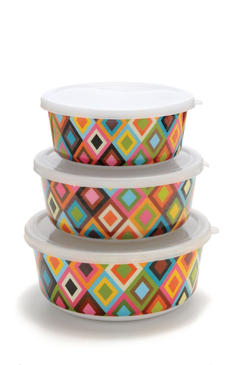 French Bull Melamine Storage ContainerSet of 3 If u cant stand
