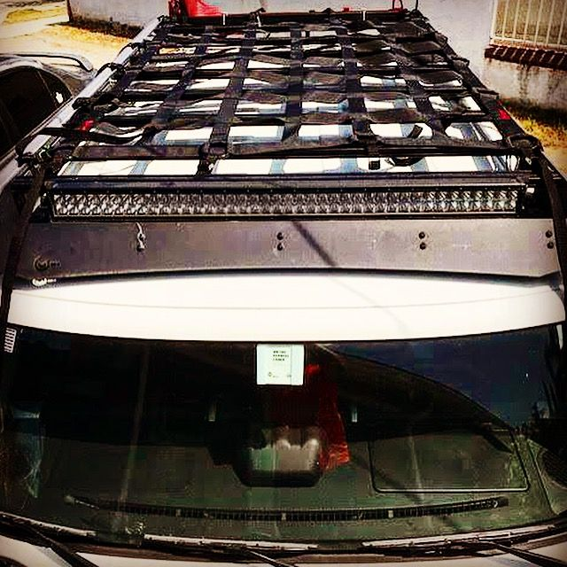 Prinsu Designs Rack With Raingler Net Suv Camper Roof Rack Chevy Colorado