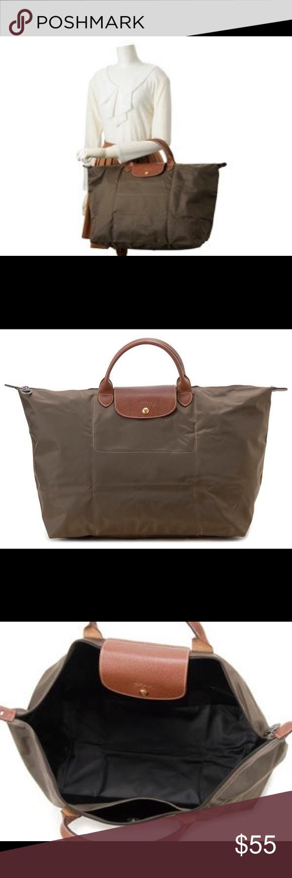Longchamp Large Travel Bag Khaki   ReGreen Springfield 6dae1b27d5