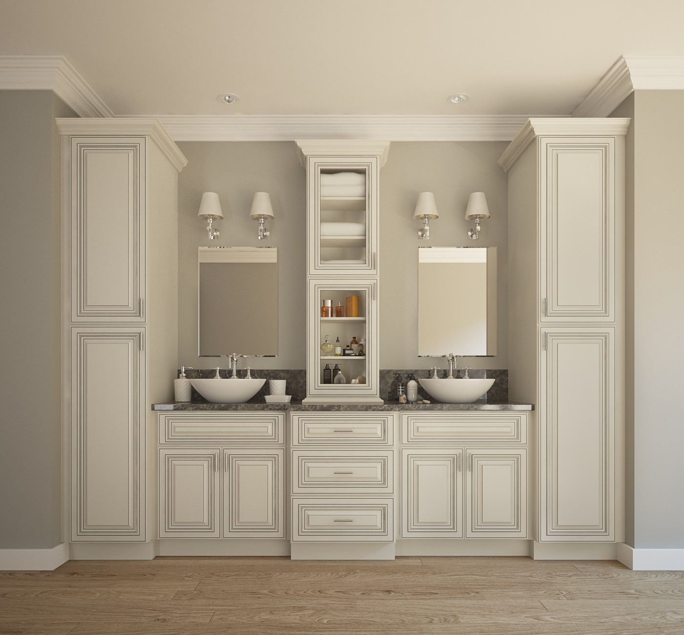 Rta Kitchen Cabinets Online: Signature%20Vanilla%20Glaze%20Bathroom%20Vanity