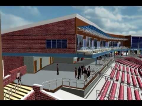 Quad City River Bandits new stadium animation
