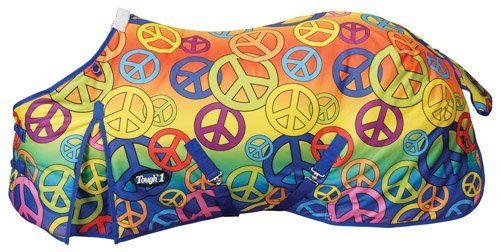 Tough 1 Peace Sign 1200 Denier Turnout Blanket 79 99 Waterproof Polarshield Turnout Suggested Retail 129 9 Waterproof Sheets Horse Blankets Saddle Pads