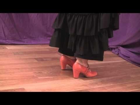 How to do flamenco footwork - YouTube