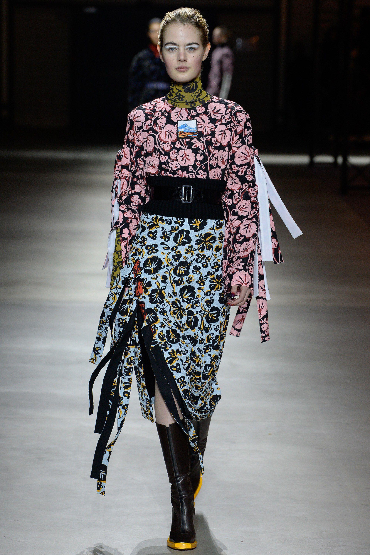 Kenzo Fall 2017 Ready To Wear Fashion Show