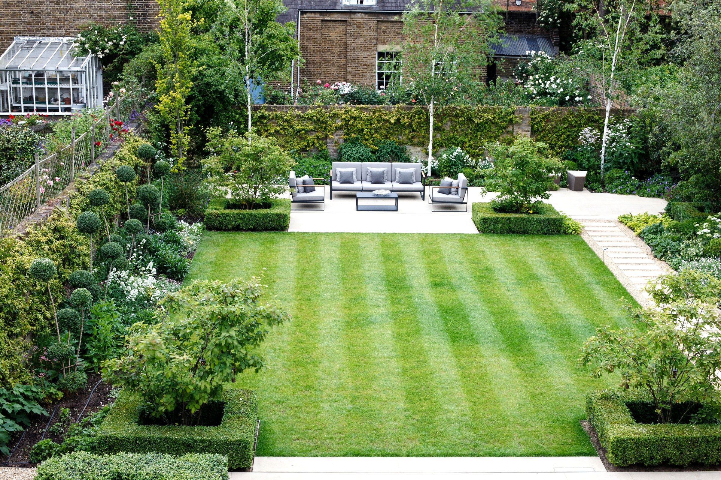 Image result for square garden design | Terrace garden ... on Square Patio Designs  id=95066