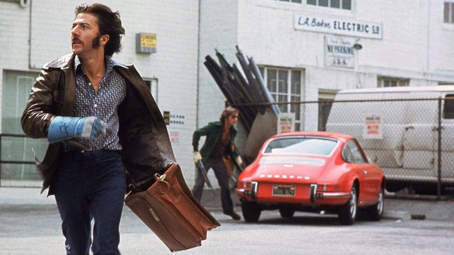 Dustin Hoffman and Harry Dean Stanton in Straight Time (Ulu Grosbard, 1978)