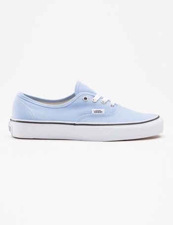 vans authentic blue womens