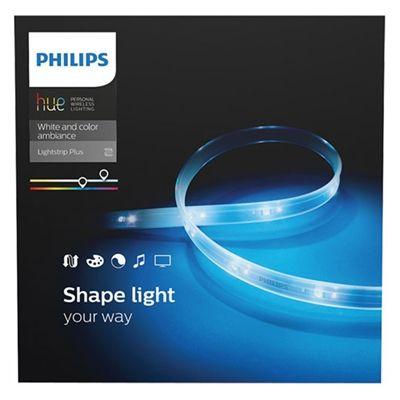 Philips Under Cabinet Light 800540 Hue Lightstrip Plus Hue Philips Hue Lights