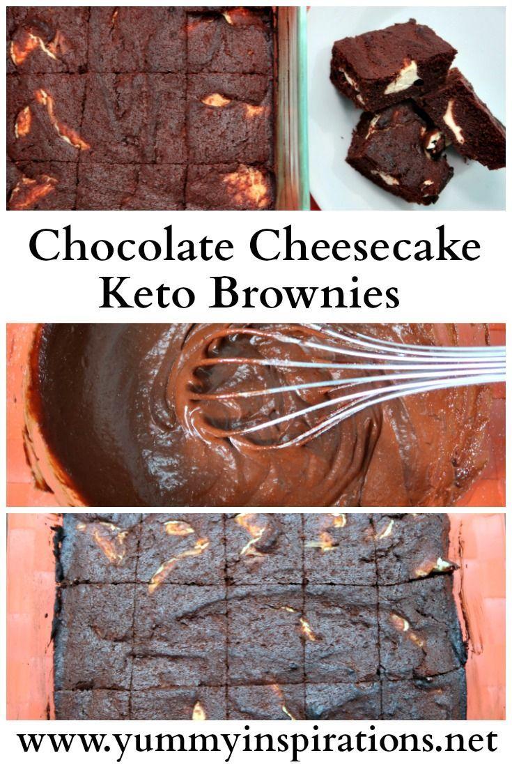Chocolate Cheesecake Keto Brownies Recipe Keto