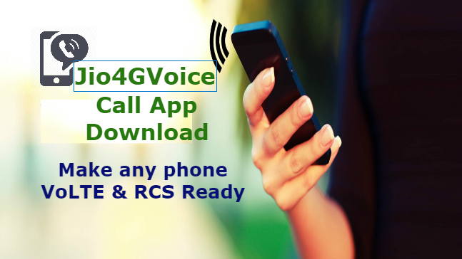 How to Download Jio4GVoice Call App Android apps, App