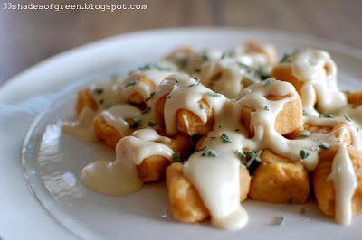 Sweet Potato Gnocchi .....  Nanny would be so proud