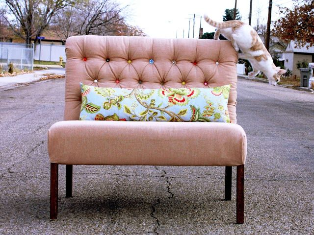 Diamond Tufted Dining Bench Furniture Furniture Makeover Home Diy