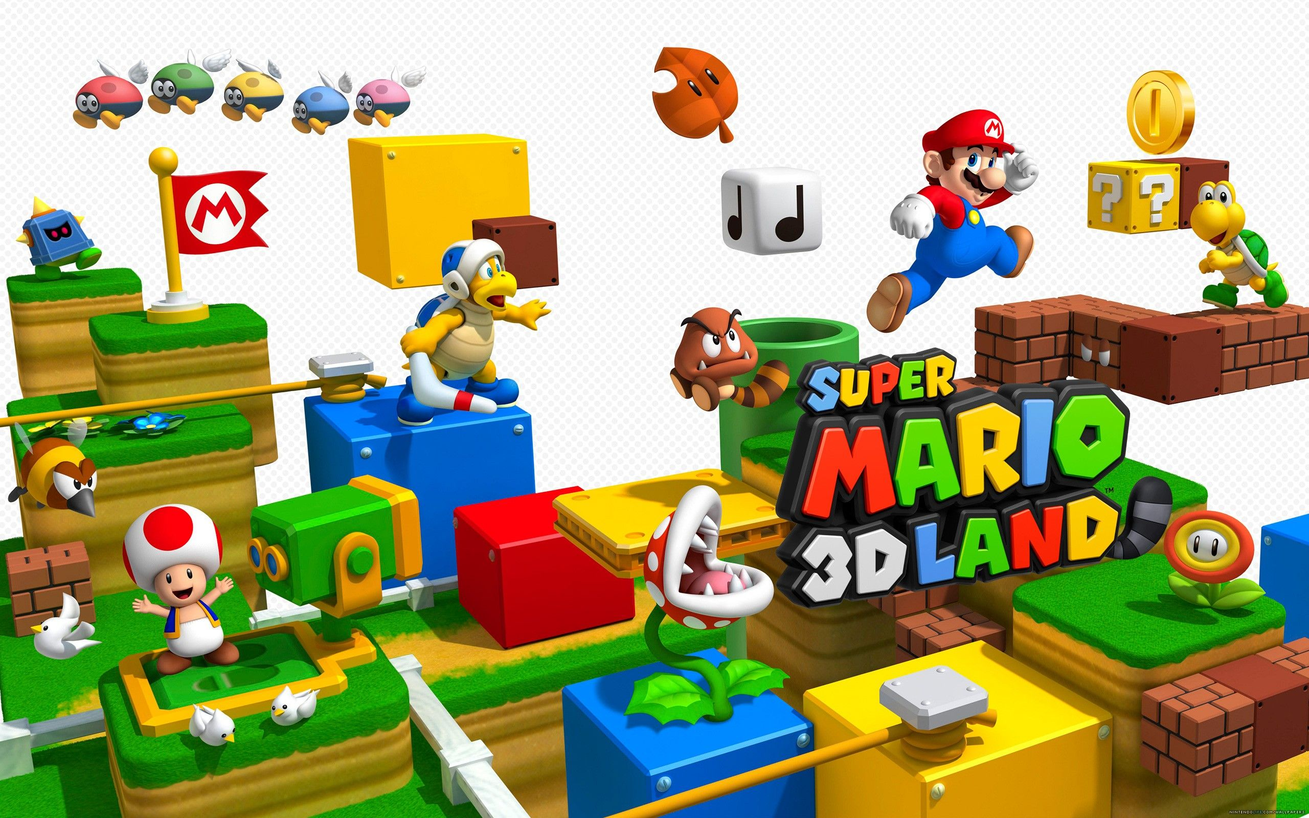 8 Super Mario 3D Land HD Wallpapers