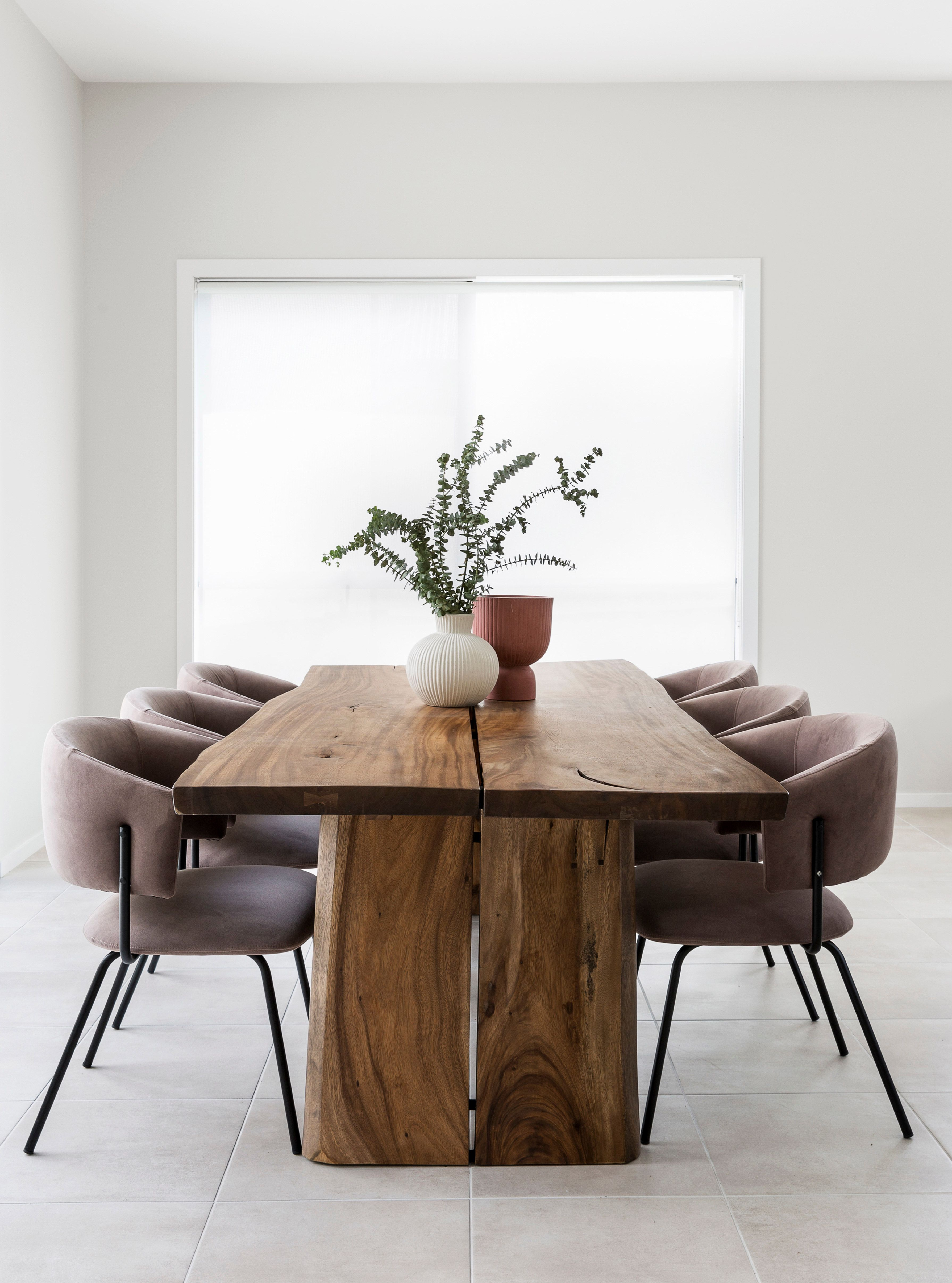 The Newport Live Edge Dining Table