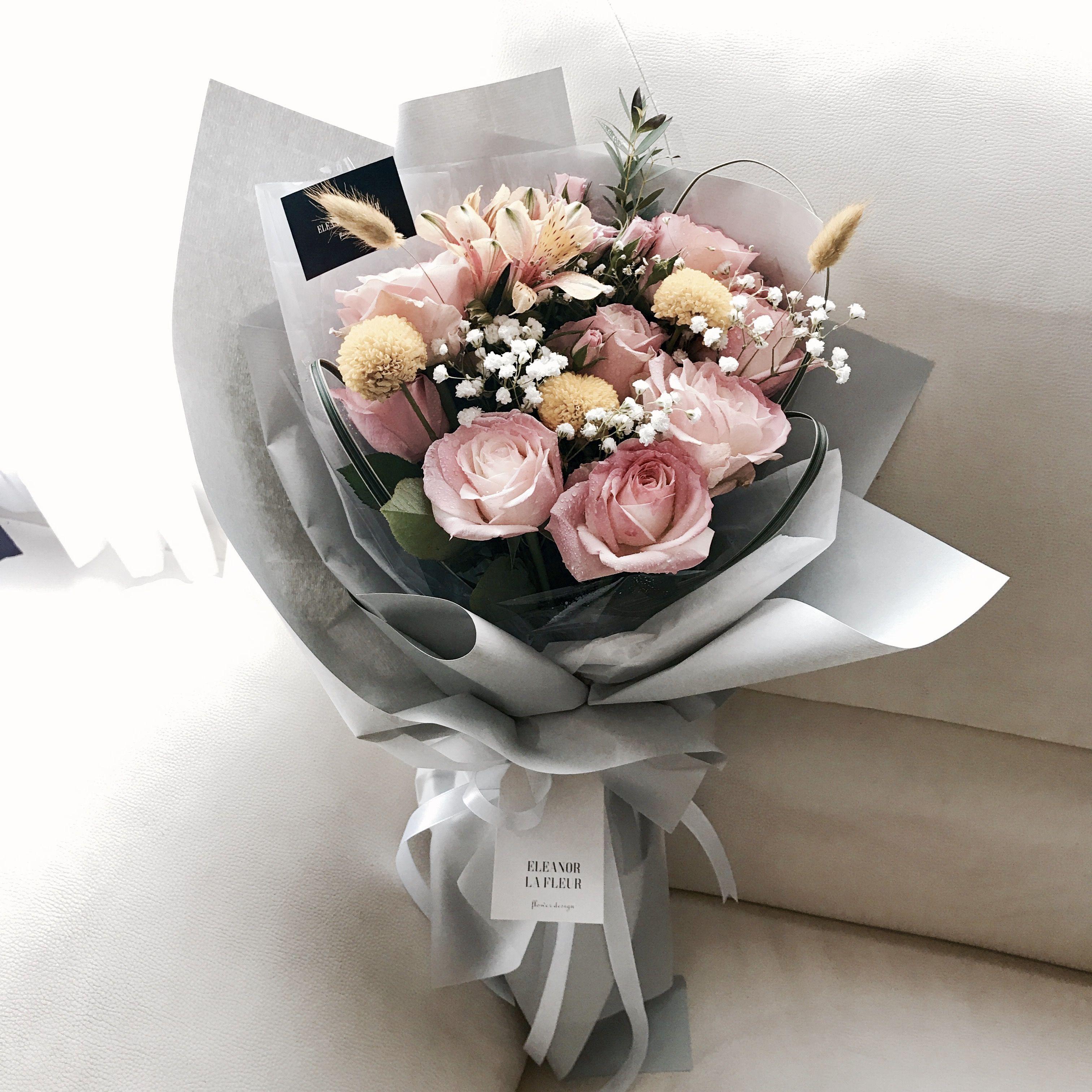 Pin by eleanor la on Korean flower bouquet   Pinterest   Flower bouquets