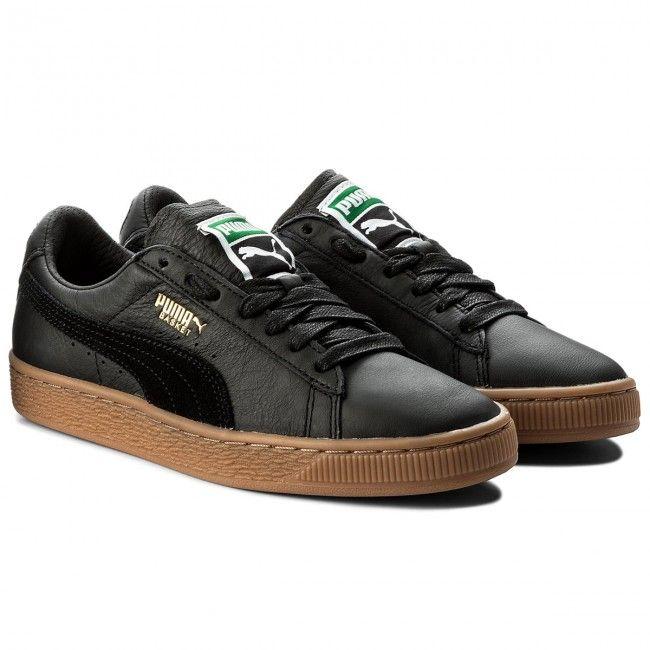 1595ee088586 Sneakers PUMA - Basket Classic Gum Deluxe 365366 02 Puma Black ...