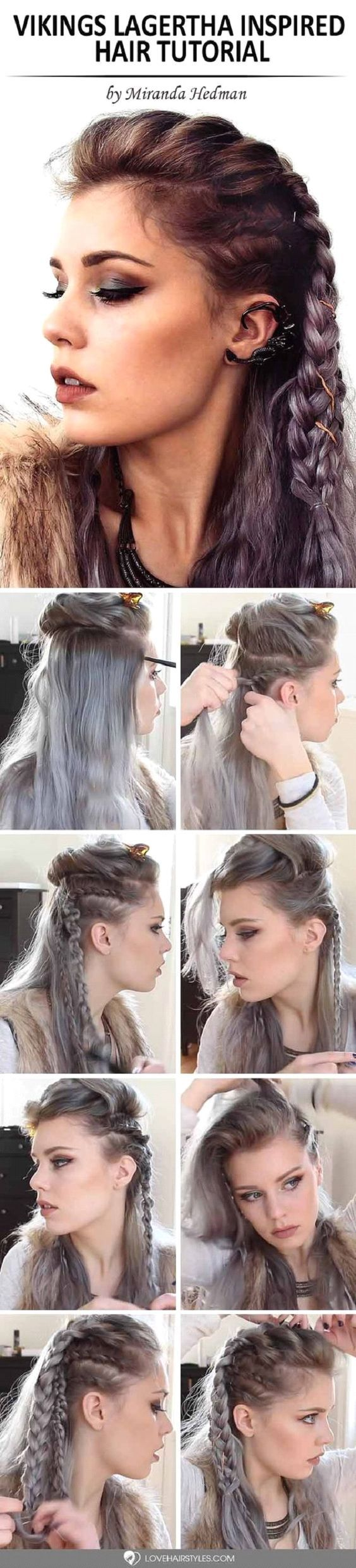 Get the style of lagertha from vikings makeup mania mermaid