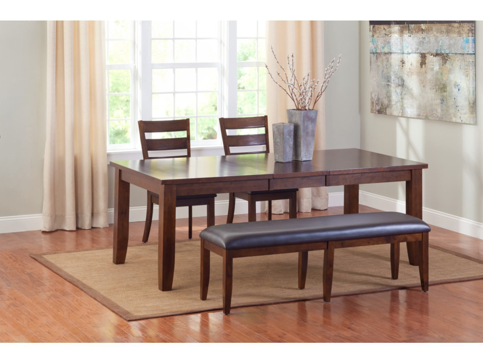 Abaco 4Pc Dinette With Bench  American Signature Furniture Enchanting American Signature Dining Room Sets Design Decoration