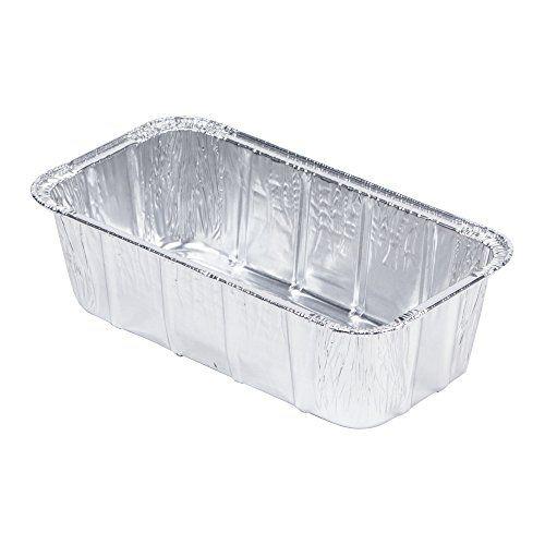 Mt Products Disposable Aluminum Foil 1 5 Lb Loaf Bread Pan