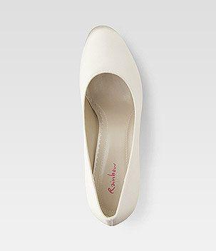 Bride Shoes Pumps Satin white