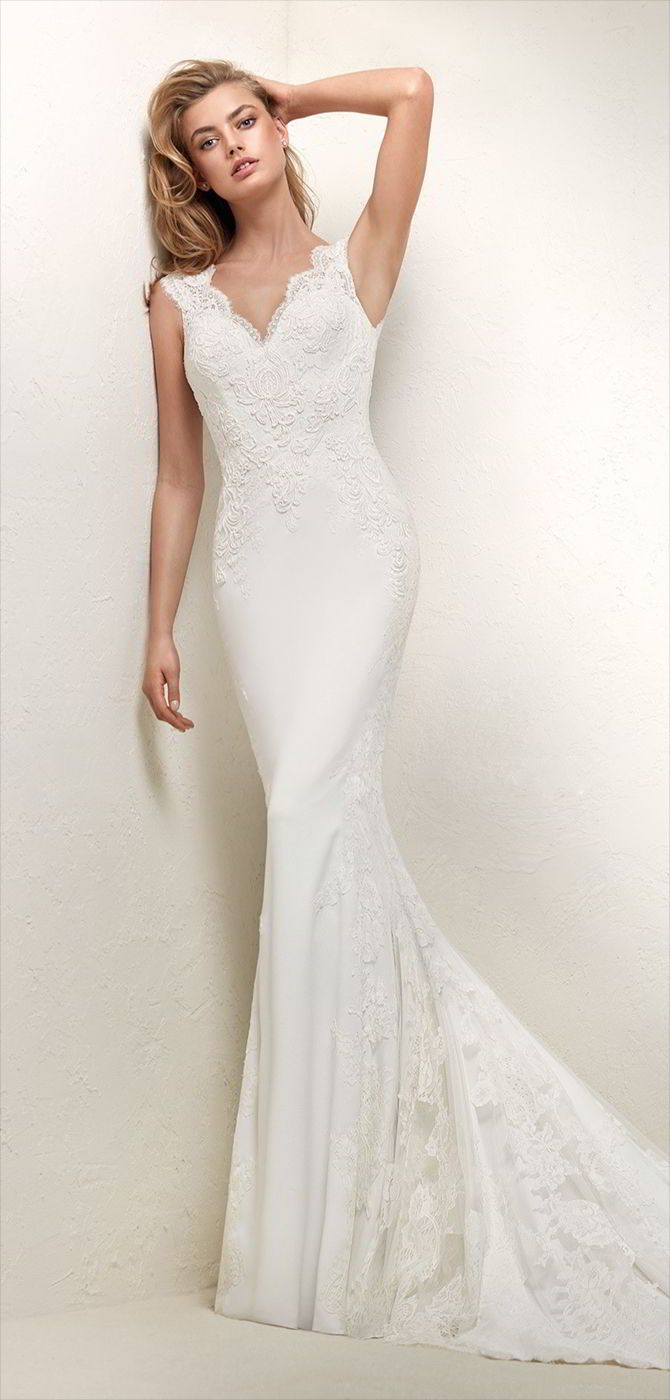 Pronovias wedding dresses mermaid wedding dresses pinterest