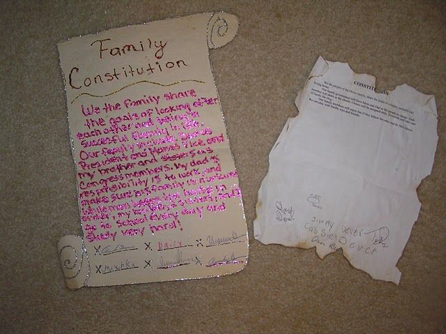 Constitution Day family project | Classroom Social Studies ...