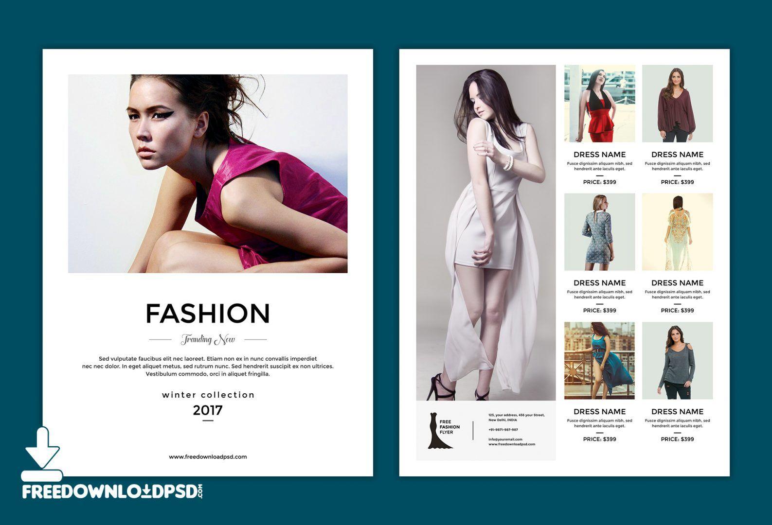 merveilleux Best Multipurpose Fashion Flyer PSD Templates u0026 Designs - Free u0026 Premium