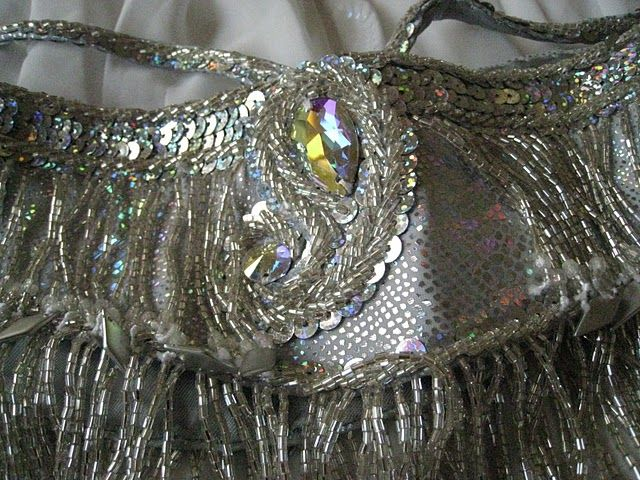 Belly dance belt close up. Bella design for inspiration.
