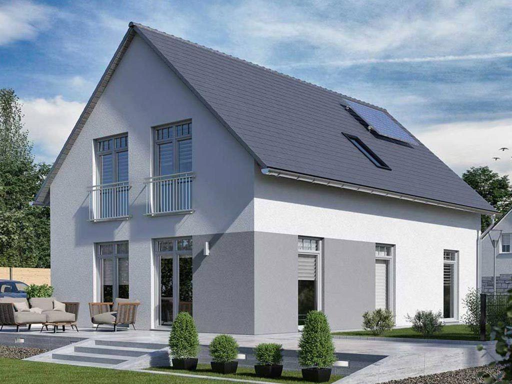 Fassadenfarbe einfamilienhaus  Bildergebnis für fassadenfarbe grau | Fasade | Pinterest ...