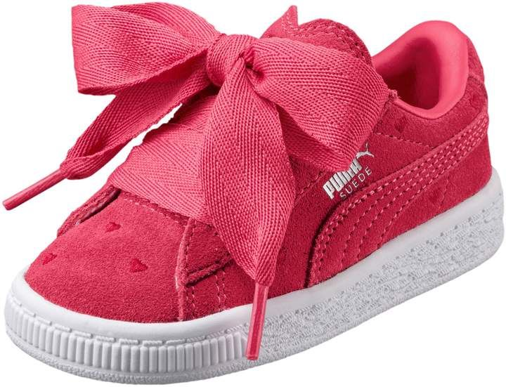 Suede Heart Valentine Toddler Training Shoes | PUMA US