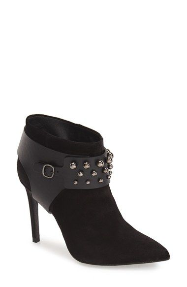 Pedro Garcia 'Andy' Studded Pointy Toe Bootie (Women) available at #Nordstrom