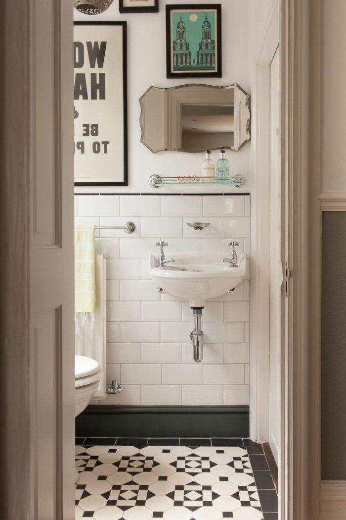 Le thème du jour est la salle de bain rétro! Bathroom inspiration