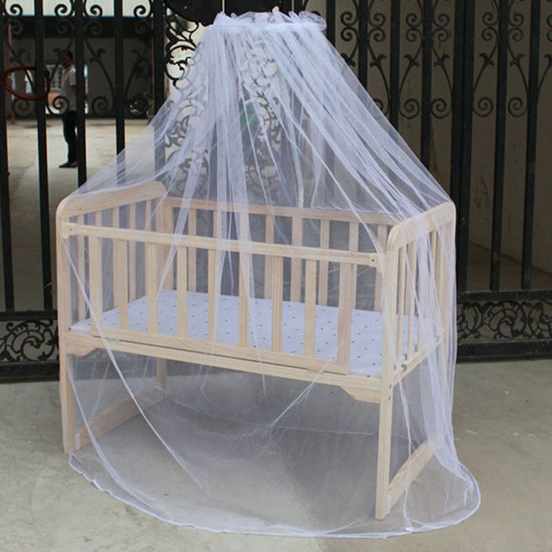 Hot Selling Baby Bed Mosquito Mesh Dome Curtain Net For Toddler Crib Cot Canopy Quality First
