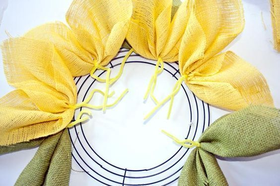 Photo of How to Make a Sunflower Burlap Wreath – Clumsy Crafter