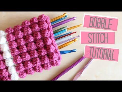 CROCHET: Bobble/Popcorn stitch tutorial   Bella Coco - YouTube ...