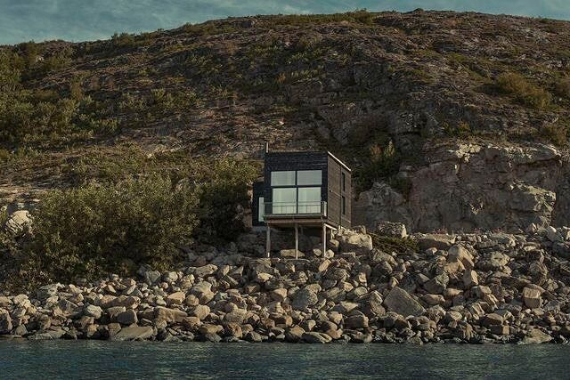 Hadars House (646 ft/ 60 m) #Stokkøya Åfjord #Norwayby Asante Architecture | More images @prefabnsmallhomes #interiors #interiordesign #architecture #decoration #interior #home #design #camper #bookofcabins #homedecor #decoration #decor #prefab #diy #lifestyle #compactliving #fineinteriors #cabin #shed #tinyhomes #tinyhouse #cabinfever #inspiration #tinyhousemovement #airstream #treehouse #cabinlife #cottage