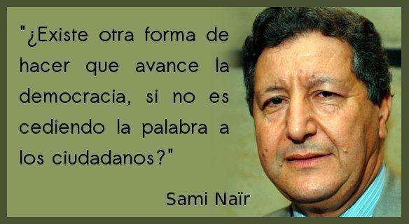 Democracia es la cultura del diálogo...