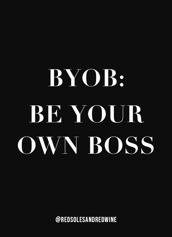 Be Your Own Boss Quote, Inspirational Quote, Boss Quote, Girl Boss Quote, Entrepreneur Quote