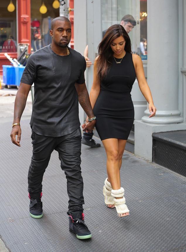 Kanye West Kim Kardashian To Create Louis Vuitton Designer Shoe Thejasminebrand Kim Kardashian Kanye West Kanye West Style Kim Kardashian Style