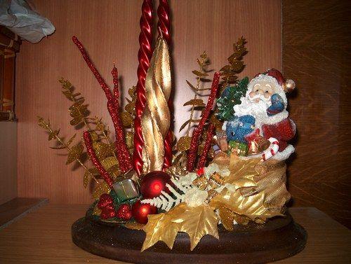 Centro de mesa navide o manualidades buscar con google - Centros de mesas navidenos ...