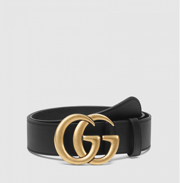 The Unexpected Gucci Item Blowing Up In The Blogger World Gucci Leather Belt Gucci Leather Gucci Belt