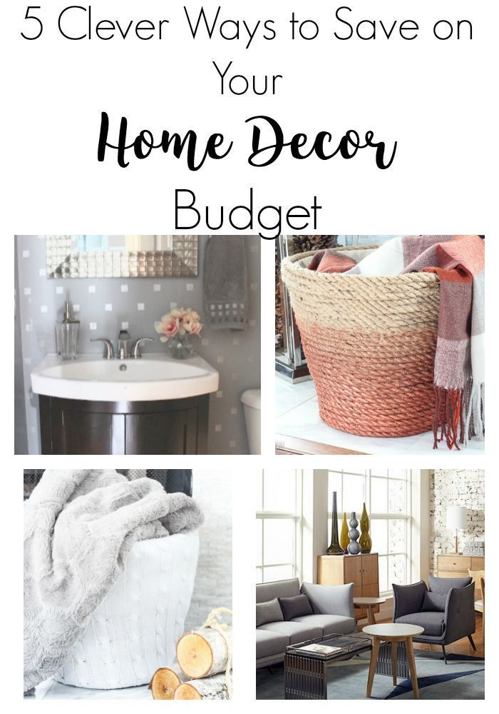 clever ways to save on your home decor budget decorating  diy also rh pinterest