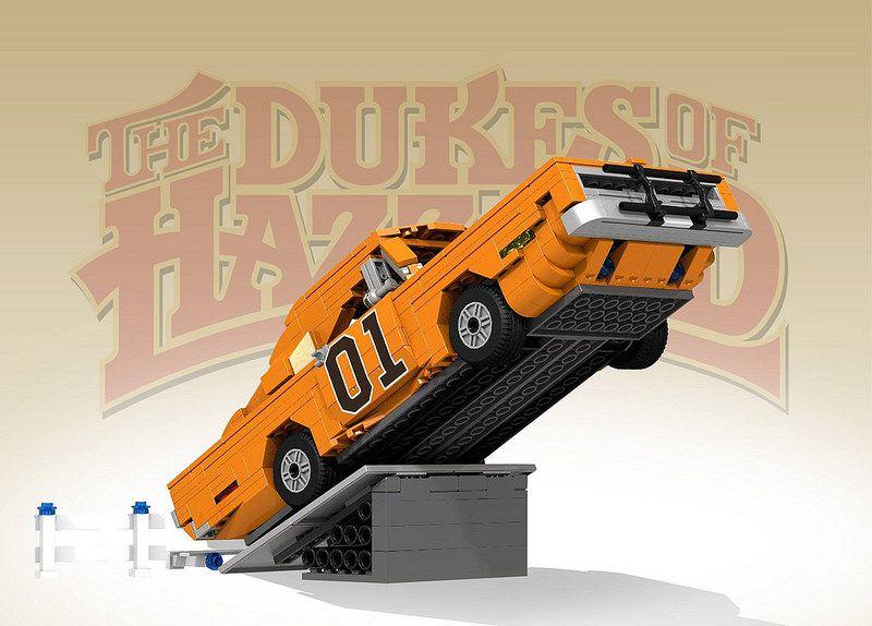 Lego General lee Dukes